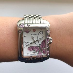 Limited Edition pink sapphire Michele watch